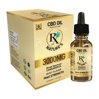 Broad Spectrum Max Strength CBD Tincture by Nature Rx 3000MG 7
