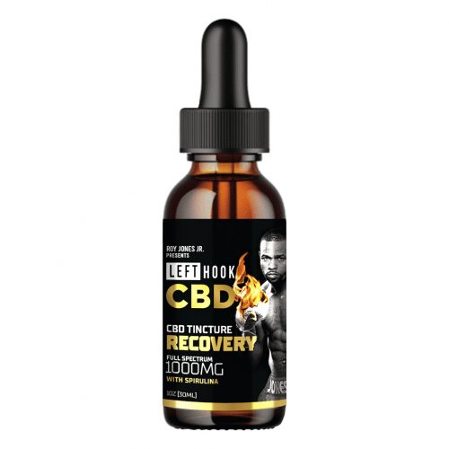 Left Hook Recovery Tincture CBD 1000mg 1